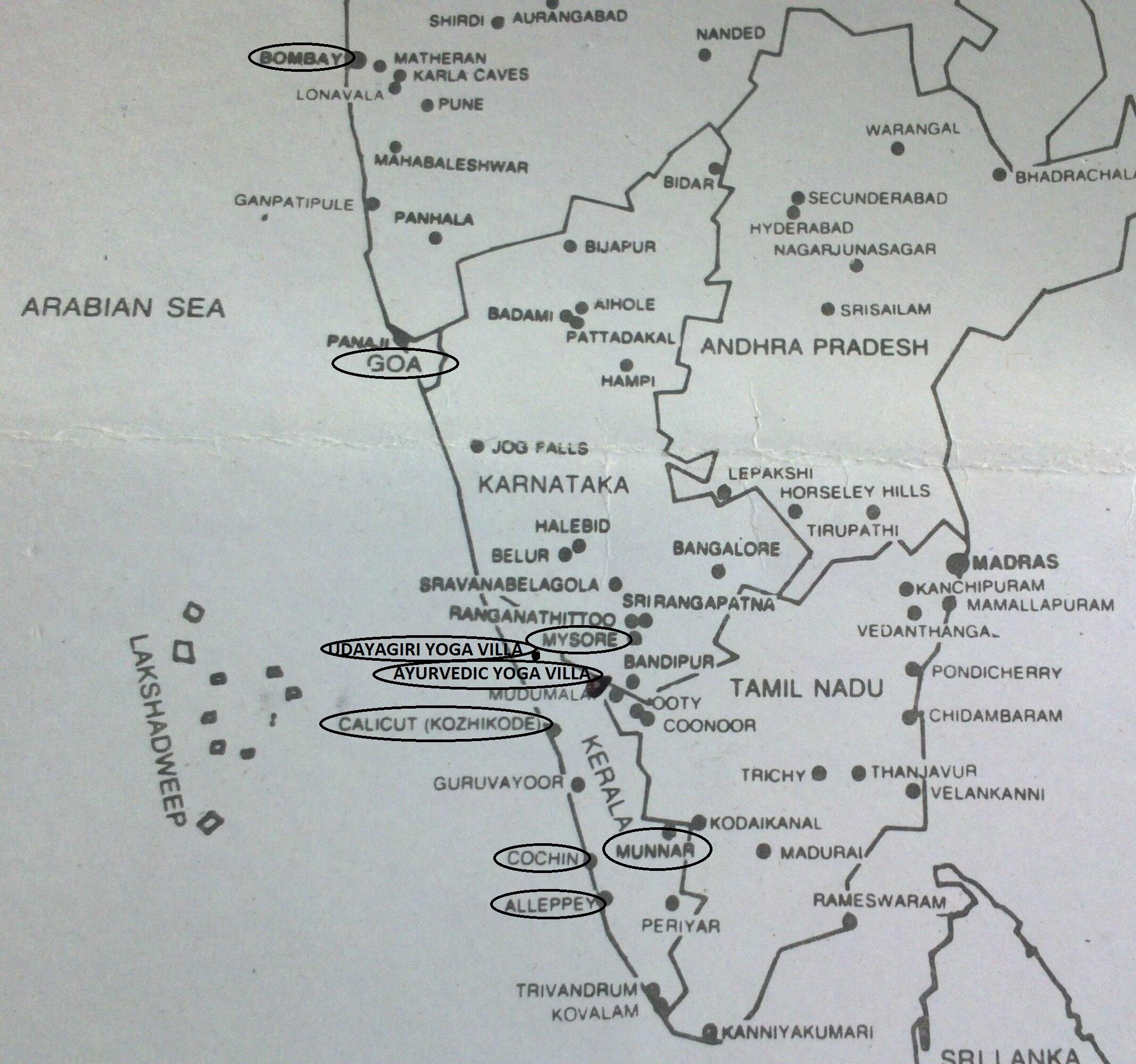India Map 002 Tpmozzadventure